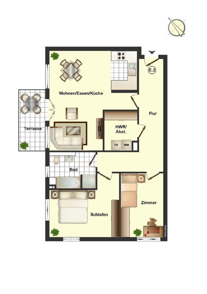 Modernes Wohnen hinter traditionellem Fachwerk in Jork