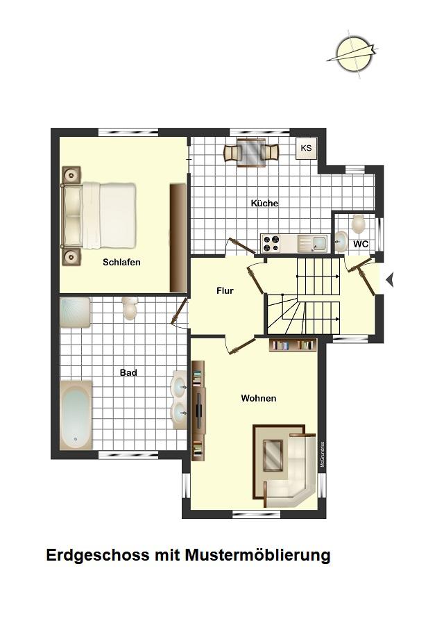 Saniertes Zweifamilienhaus – Zentral in Cuxhaven