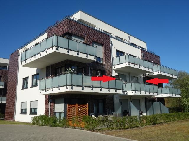 Moderne kleine Eigentumswohnung im 1. OG in Buxtehude