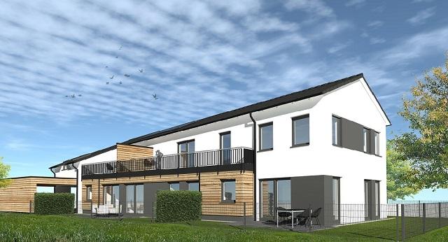 KfW-55-Standard-Neubau: Erdgeschoss-Wohnung in Buxtehude