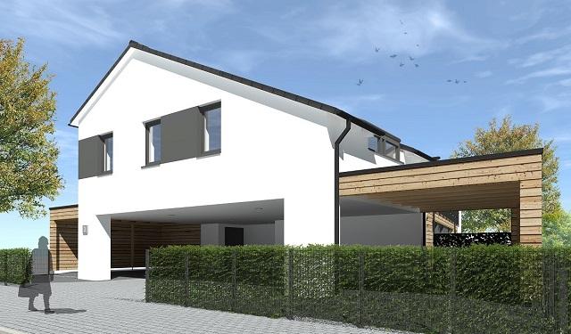 KfW 55-Standard-Neubau: Obergeschoss-Wohnung in Buxtehude