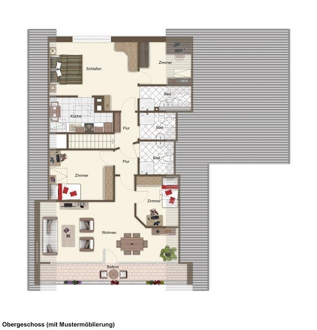 Einfamilienhaus mit Einliegerwohnung im Herzen von Duhnen
