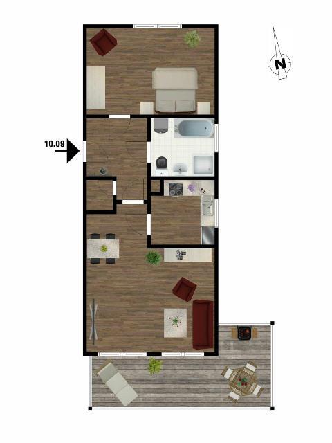 Courtagefrei! 2-Zimmer-Wohnung als Kapitalanlage, Buxtehude